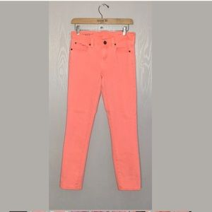 J. Crew toothpick tall ankle jeans pants